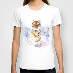 Tiger T-shirt by Anna Shell - $22.00