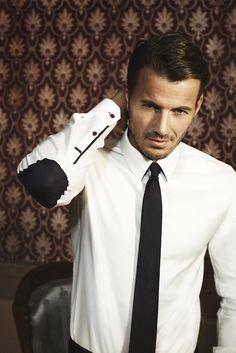 men's shirt, black + white, details, Alex Lundqvist; photo: Tobias Lundkvist