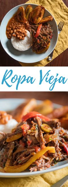 Ropa vieja, a dish famous in Cuba and popular throughout the Latin Caribbean, features thin strands of shredded beef in a rich and flavorful sauce of tomatoes, onions, bell peppers, and spices. This recipe updates the classic technique for improved efficiency and flavor.