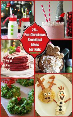 25+ Fun Christmas Breakfast Ideas for Kids   NoBiggie.net