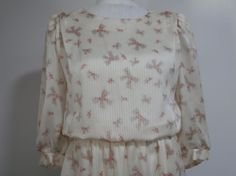 Ladies Lisa II Dress Semi Sheer Cream Size 16 Three by 2lewa