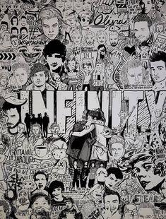 One Direction Fan Art, One Direction Drawings, One Direction Lockscreen, One Direction Cartoons, One Direction Images, One Direction Lyrics, One Direction Wallpaper, Lyric Drawings, 5sos Lyrics