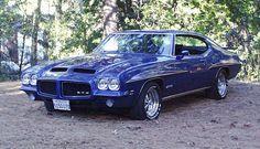 Blue 1971 Pontiac GTO, She is Gorgeous.!!!