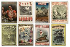 Victorian posters