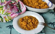 FIDEOS A LA MARINERA Mambo - Entre Delicias Mashed Potatoes, Macaroni And Cheese, Spaghetti, Rice, Ethnic Recipes, Food, One Pot Dinners, Vegetables, Cockles