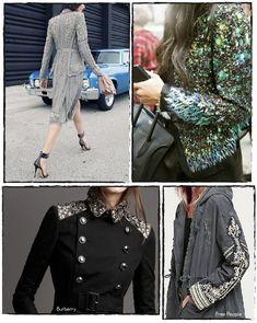En una de mis últimas compras online me ha llegado una chaqueta que me pide urgentemente un DIY. Y no porque sea sosa o necesite una re...