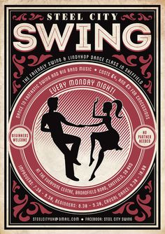 Steel City swing poster