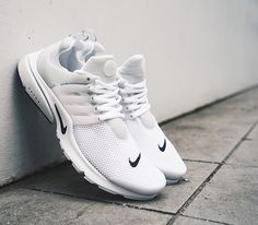 Nike Air Presto Breathe QS-White-Black