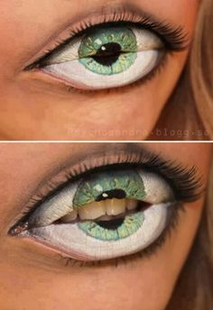 Maybe zombie makeup for Halloween, zombie festivals.