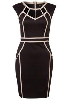 Cocktailkleid / festliches Kleid - black/cream