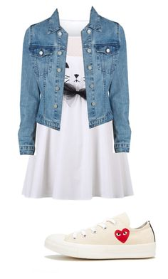 """""""Untitled #26"""" by evagutowski ❤ liked on Polyvore featuring Play Comme des Garçons"""