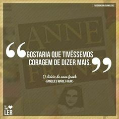 34 Melhores Imagens De Anne Frank Thoughts Anne Frank E Texts