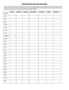 24 hour calendar template printable
