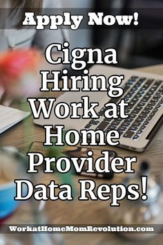 Cigna is hiring work at home provider data senior reps in the U. These home-based positions are full-time and available throughout the U. Work From Home Careers, Home Based Jobs, Make Money From Home, Way To Make Money, Money Fast, Best Home Business, Business Ideas, Online Business, Work For Hire