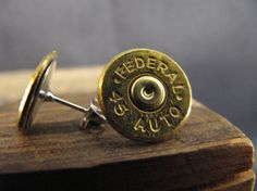 Federal 45 auto bullet earrings by MischiefOfMice on Etsy