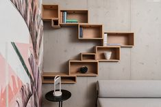 S3 Showroom Tischlerei 2020-01-22 - S3 Showroom Tischlerei 2020-01-22 Joinery, Showroom, Bookcase, Shelves, Architecture, Home Decor, Carpentry, Carving, Shelving