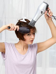 Blow-Drying Tips - How To Blow Dry Your Hair Like a Pro - Redbook#slide-1#slide-11