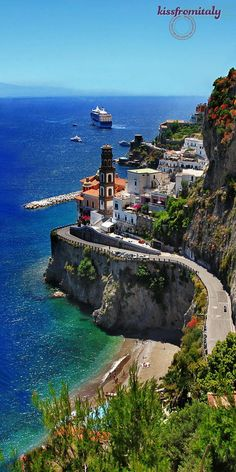 Amalfi Coast Scenic  #pictures #beauty #vacation