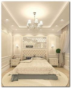Creative Ceiling Designs For Your Master Bedroom - ceiling design House Ceiling Design, Ceiling Design Living Room, Bedroom False Ceiling Design, Luxury Bedroom Design, Home Ceiling, Home Room Design, Master Bedroom Design, Home Decor Bedroom, Living Room Designs