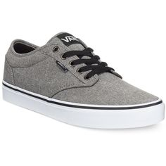 9cd2943a2d Vans Men s Atwood Heathered Sneakers ( 60) ❤ liked on Polyvore featuring  men s fashion