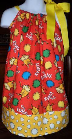 Dr. Seuss' The Lorax Pillowcase Dress