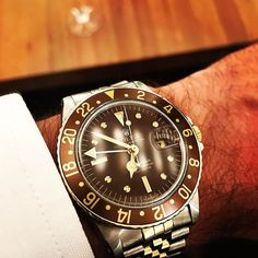 1c28cb37 Grandma on the top ! This old #rolex 1675/3 provides all what you