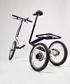 Foldable Electric Tricycle   Gessato Blog