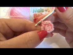 Faixa de Cabelo Para Bebê RN Crochê - YouTube