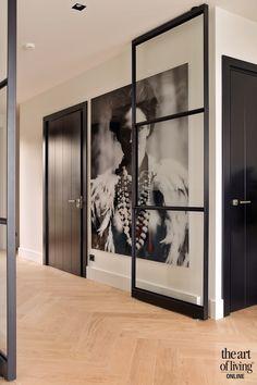 Inside A House, Happy New Home, Modern Villa Design, Internal Doors, Home Interior Design, Home And Living, Interior Inspiration, Living Spaces, New Homes