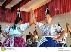 Dancers Dancing In Traditional Slovak Costumes Editorial Stock Photo - Image of ensemble, national: 35298333 Popular, Dancers, Editorial, Stock Photos, Costumes, Traditional, Image, Clothes, Outfits