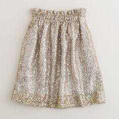 J Crew sequin skirt