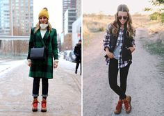 9 stylish ways to wear hiking boots - A Girl Named PJ Hiking boots for women with red laces Girls Hiking Boots, Hiking Boots Outfit, Trekking Outfit, Best Hiking Boots, Winter Boots Outfits, Fall Outfits, Winter Shoes, Stylish Outfits, Hiking Outfits