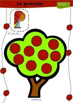 Le pommier est un petit jeu pour discriminer le son [p]. Cette fois-ci, tous les enfants jouent...