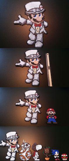Beaded Items 83889: Wedding Mario 8 Bit Pixel Art | Mario Odyssey | Perler Beads | Nintendo | Retro -> BUY IT NOW ONLY: $34.99 on eBay!