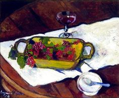 Still Life With Berries - Suzanne Valadon