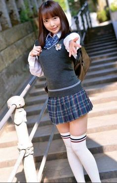 Details about Female TC Knee High Socks Petite Size Multi color Cotton Japanese School Uniform Girl, School Girl Dress, School Girl Japan, School Uniform Girls, Japan Girl, Cute School Uniforms, Hot Japanese Girls, Beautiful Japanese Girl, Beautiful Asian Women