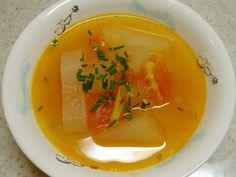 冬瓜とトマトの冷製スープ
