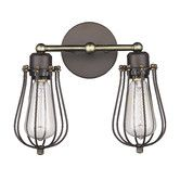 Found it at Wayfair - Ironclad 2 Light Wall Sconce