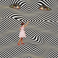 oxane:  Mariano Peccinetti Eye Art, You Are My Sunshine, Art Inspo, Animal Print Rug, Geometry, Illusions, Modern Art, Indie, Digital Art