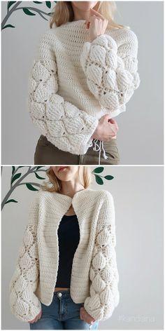 Cardigan Figs Crochet