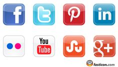 Free Icons: Social Media Vector Icons 2012