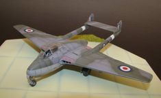 1/72 Revell De Havilland DH.100 FB.5 Vampire by Gianni Chirico