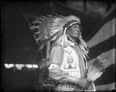 Indians - Chief Bald Eagle   Creator/Contributor: Jones, Leslie, 1886-1967 (photographer) Date created: 1917 - 1934 (approximate)