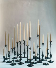 Shop for E. Butler Oxidized Bronze Biedermeier Candlesticks designed by Ted Muehling, at Kneen & Co, the destination for luxury tabletop and home decor. Wedding Ceremony Ideas, Kat Von D, Chandeliers, Decorative Accessories, Home Accessories, Candle Arrangements, Silver Candlesticks, Elements Of Style, Art Nouveau