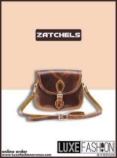Leather Saddle Bag with trendy looks. Leather Saddle Bags, Belt, Handbags, Accessories, Design, Women, Fashion, Belts, Moda