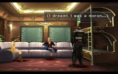 FINAL FANTASY VIII. That was one of my favorite parts.