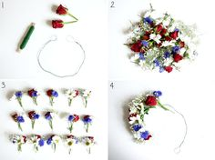 DIY: Midsummer Market – Fanny Bar – Metro Fashion Midsummer Wreath The Effective Pi … Flower Crown Hairstyle, Things To Do When Bored, Celebrate Good Times, Beltane, Boyfriend Gifts, Diy Tutorial, Diy Fashion, Most Beautiful Pictures, Deco