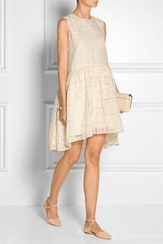 Co|Oversized fil coupé wool-blend dress|NET-A-PORTER.COM
