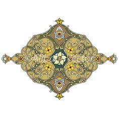 KingThrone2  Mediterranean Motif by AlibabaVector on Etsy, zł8.00
