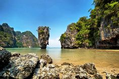 James Bond Island Including Canoe Tour from Phuket With James Bond Island in your sights, spend the day discovering the magical Phang-Nga Bay, Koh Tapu and Khao Ping Gan regions. Work up an appetite with a full day of canoeing the Andaman Sea before lunch and then a leisurely cruise back to port.     Are you the 'Man with The Golden Gun'? As seen in the epic James Bond movie, Koh Tapu and Kao Ping Gan, are home to the majestic limestone cliffs. Take a canoe and exp...